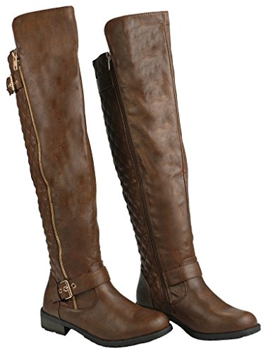 Forever Lady 21 Link Boot Brown Mango JJF 41 Shoes zSP15qA
