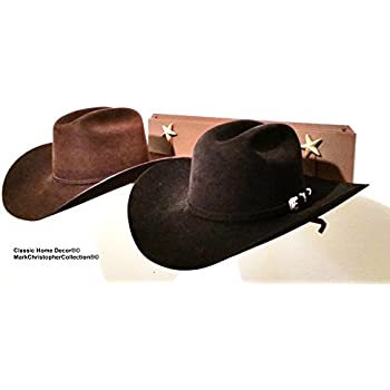98591dfcb21 Mark Christopher Collection Fedora Hat Rack American Made Classic Home Decor  .