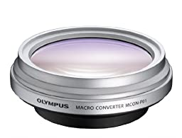Olympus MCON-P01 Macro Converter (Silver)  - International Version (No Warranty)