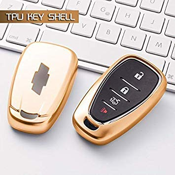 2018 New Tpu Car Key Cover Case For Chevrolet Key Fob Remote Cover Chevy Camaro Cruze Malibu 2017 Car Styling Key Case For Car Automobiles & Motorcycles