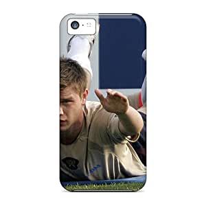 Rugged Skin Cases Covers For Iphone 5c- Eco-friendly Packaging(russian National Team Player Marat Izmailov In Training)