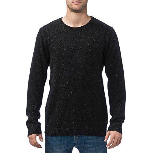 Globe Mens Byrd II Sweater Sweatshirt X-Large Black Speckle
