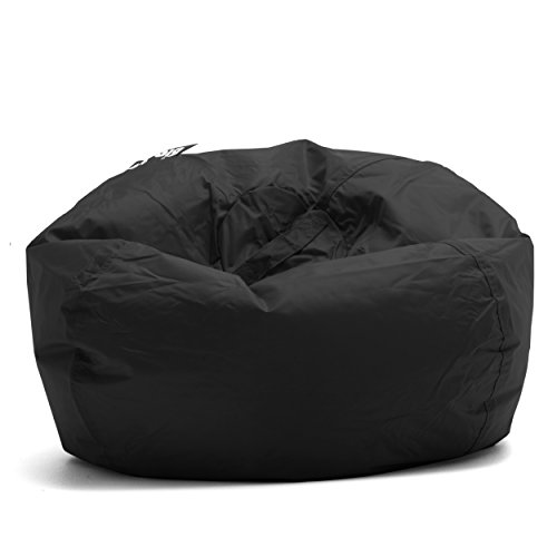 Big Joe 98-Inch Bean Bag, Limo Black - 641602 Black Vinyl Bean Bag