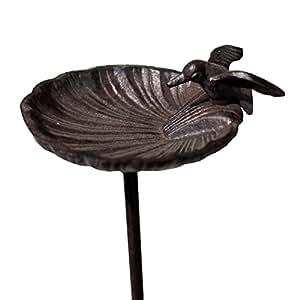 Provins Deco baño comedero Bebedero para pájaros de jardín 100cm