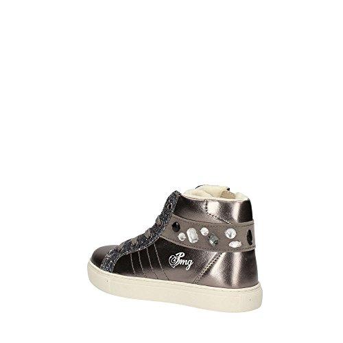 Primigi Mädchen Psr 8309 Hohe Sneaker, Silber (Bronzo/Argento), 33 EU