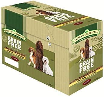 James Wellbeloved Complete Wet Grain Free Adult Dog Food Lamb, 12 x 100 g – Dogs Corner