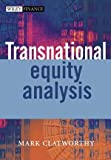 Transnational Equity Analysis, Mark Clatworthy, 0470861266