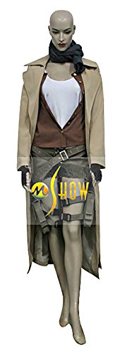 Resident Evil Alice Costumes For Adults (Mtxc Women's Resident Evil: Extinction Cosplay Costume Alice Full Set Size Small Brown)
