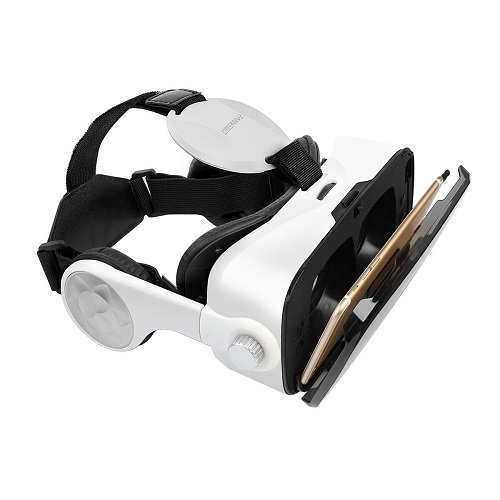 FANNEGO VR Headset, VR Goggles with Stereo Headphone Compatible with IOS & Android 3.5''-6.0'' Cellphones by FANNEGO (Image #6)