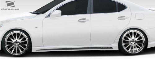 2006-2013 Lexus IS Series IS250 IS350 Duraflex W-1 Side Skirts Rocker Panels - 2 (Duraflex Side Skirts)