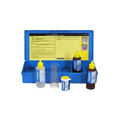 Taylor K-1515-C Taylor FAS-DPD Drop Test Kit by Taylor