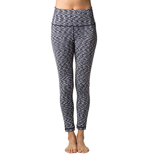 CCatyam Yoga Pants for Women, Trouser Pocket Solid Fitness Workout Sport Tight Gym Sexy Leisure Fashion Gray from CCatyam