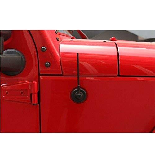 7'' Metal AM FM Antenna Reflex for Jeep Wrangler JK Unlimited 2/4 Door- Black