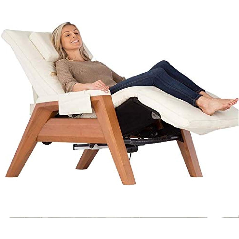 Human Touch Gravis ZG Chair - Zero Gravity Massage Recliner [LEATHER EXTERIOR MISSING]