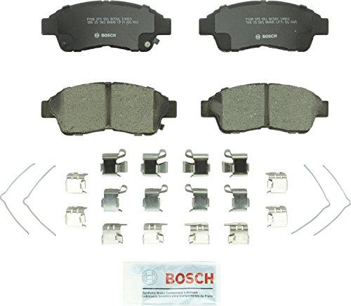 (Bosch BC562 QuietCast Premium Ceramic Disc Brake Pad Set For: Geo Prizm; Toyota Camry, Celica, Corolla, RAV4, Front)
