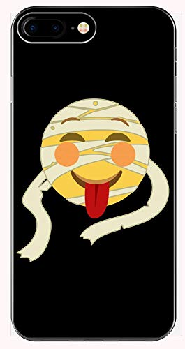 Funny Mummy - Silly Costume Wrap Preserve - Tongue Sticking Out Humor - Phone Case for iPhone 6+, 6S+, 7+, 8+ ()