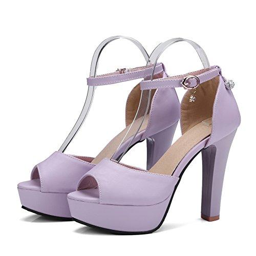 BalaMasa Bout Violet Ouvert 5 ASL05203 EU Femme 36 Violet rTXxrwq