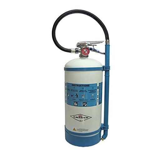 Amerex 1.75 gal Non-Magnetic Water Mist Extinguisher w/ Brass Valve & Wall Hook
