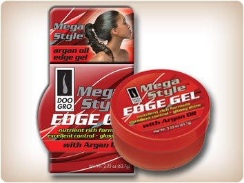 DOO Gro® Mega style Gel Edge avec l'huile d'argan 2,25 oz