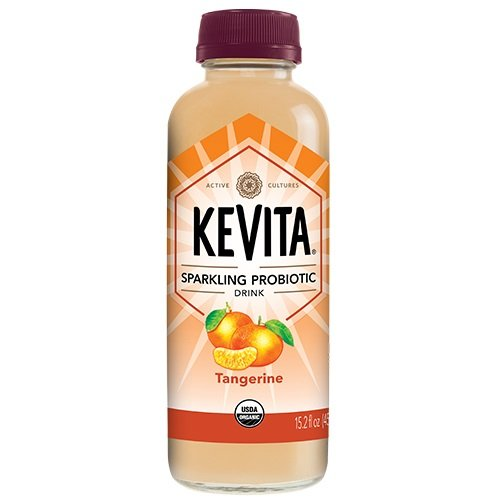 KEVITA Tangerine Sparkling Probiotic, 15.2 Ounce (Pack of 6) by KeVita