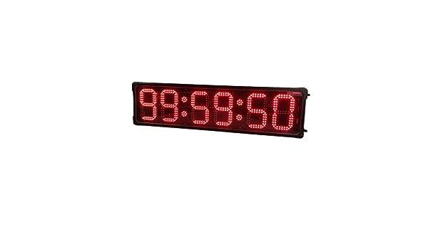 Reloj de cuenta atrás 8 pulgadas 6 Dígitos de doble cara del reloj ...