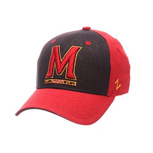 Zephyr NCAA Maryland Terrapins Adult Men Challenger Cap, Medium/Large, Heathered Team Color (Zephyr Hat Maryland)