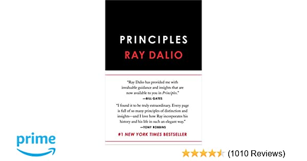 Principles: Life and Work: Ray Dalio: 9781501124020: Amazon
