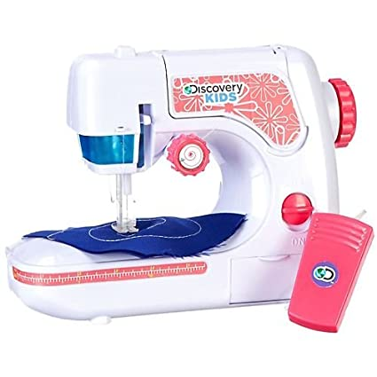 Amazon Discovery Kids Chainstitch Sewing Machine WHITE Toys New Discovery Kids Sewing Machine