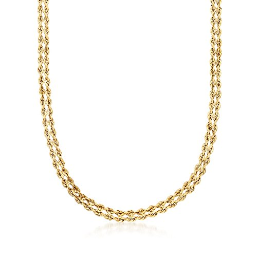 Ross-Simons 14kt Yellow Gold D