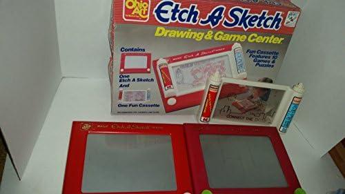 Amazon.com: Ohio Art Etch un boceto dibujo y Game Center Set ...