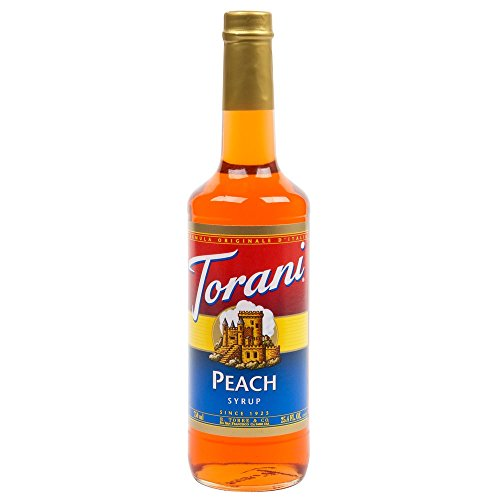 Torani Syrup, Peach, 25.4-Ounce Bottles (Pack of 3)