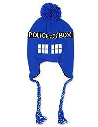 Doctor Who Tardis Laplander Beanie Hat
