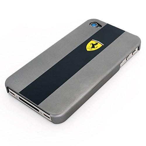 Ferrari FEGT4GSCS Hard Case für Apple iPhone 4 Metallic GFEssy weiß