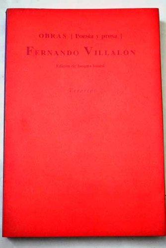 Obras (poesía y prosa) (Biblioteca de autores españoles) (Spanish Edition)