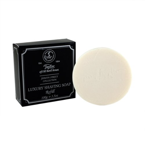 Jermyn Street Shave Soap Refill 100g shave soap by Taylor of Old Bond Street by Taylor of Old Bond Street