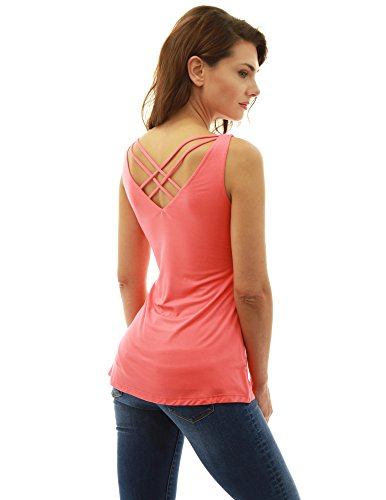 coral tops for women - 3