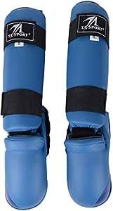 TA Sports Shin Guard, Small - Blue [GS-7003S]