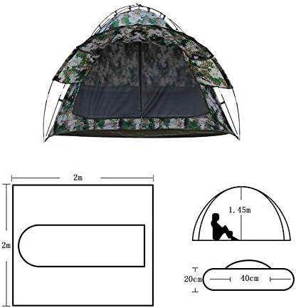 Tienda de campaña Soldado Carpa Impermeable y Sensible a la presión Carpa Camuflaje Conveniente for Acampar, con Mochila y el montañismo, Camuflaje Digital ZHNGHENG