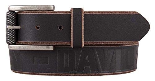 harley davidson brown belt - 6