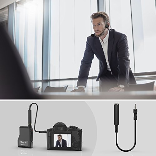 Wireless Microphone System,Fifine Wireless Microphone set with Headset & Lavalier Lapel Mics, Beltpack Transmitter&Receiver,Ideal for Teaching, Preaching and Public Speaking Applications.(K037B) - Image 6