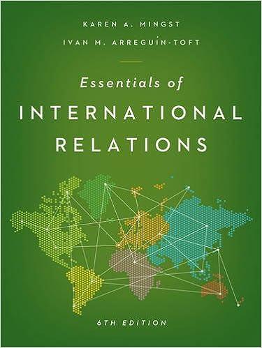 Book Essentials of International Relations by Karen A. Mingst (2016-03-15)