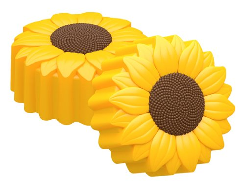(SpinningLeaf Sunflower Oreo Cookie Chocolate Candy Mold)
