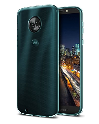 Moto G6 Case, OEAGO [Ultra Slim Thin] with Soft Feel Flexible and Easy Grip Gel Premium TPU Rubber Silicone Skin Cover Back for Motorola Moto G6 (G 6th Generation) - Mint