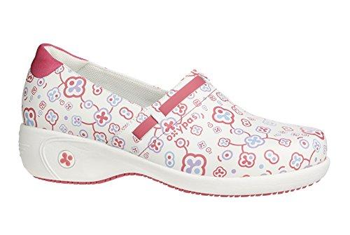 OxypasLucia - zapatos de seguridad mujer blanco - White (Flr)