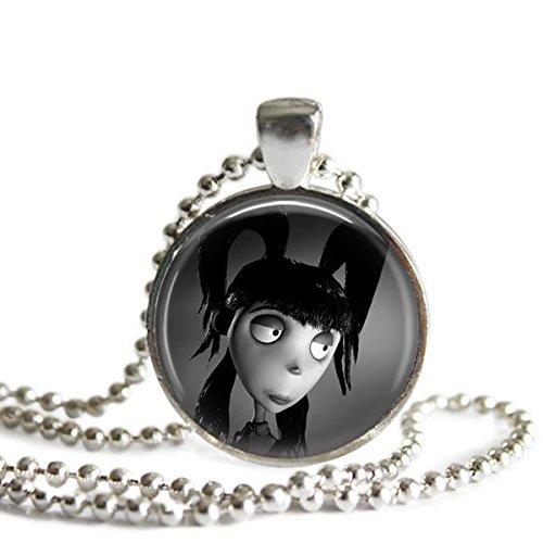 Frankenweenie Elsa Van Helsing 1 Inch Silver Plated Pendant (Frankenweenie Elsa Van)