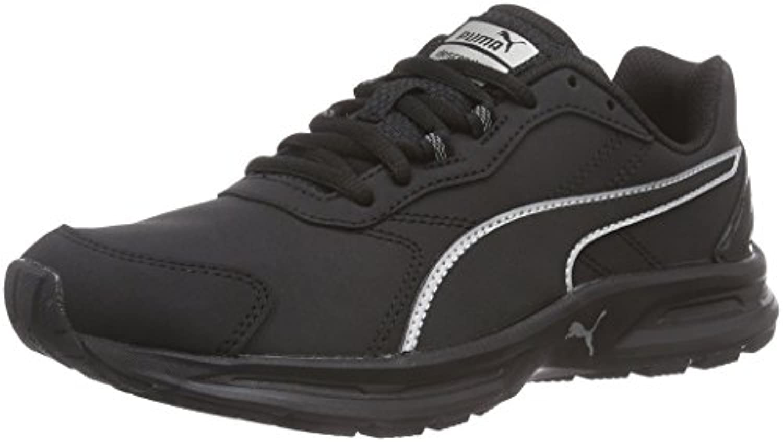 Puma Descendant v3 SL, Unisex Adults  Training Running Shoes, Black (Black/Black/Puma Silver), 3.5 UK (36 EU)
