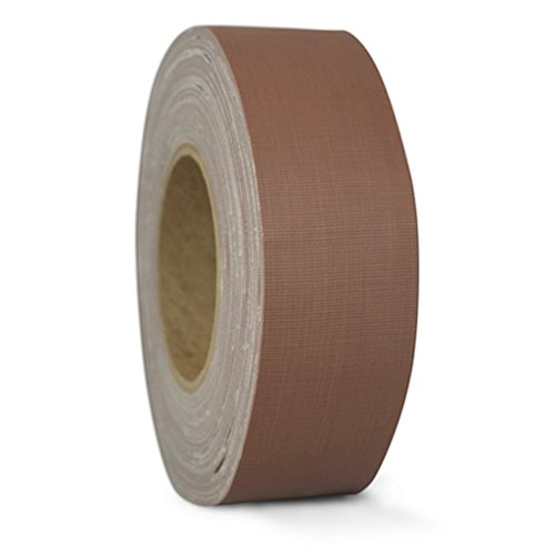 T.R.U. CGT-80 Brown Gaffers Stage Tape with Rubber Adhesive, 2 in. wide x 60 Yards length, 12MIL Thickness (Pack of 1)