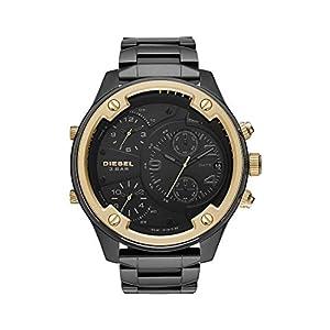 Diesel Reloj Cronógrafo para Hombre de Cuarzo con Correa en Piel 1