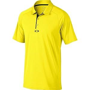 Oakley Mens Elemental 2.0 Polo Shirt Medium Blazing Yellow