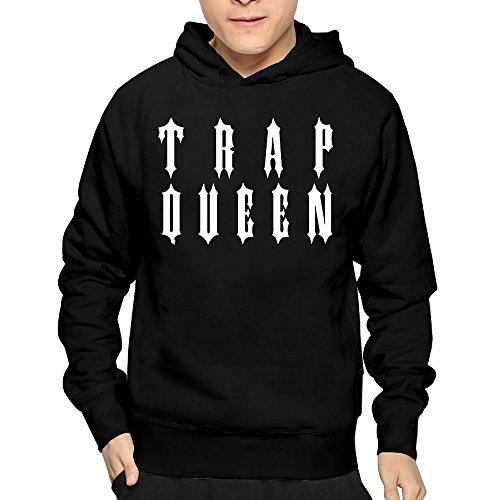 Lightweight 80's Juniors Man Trap Queen X-Large Hoodies
